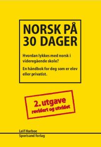 omslag 2 opplag norsk på 30 dager