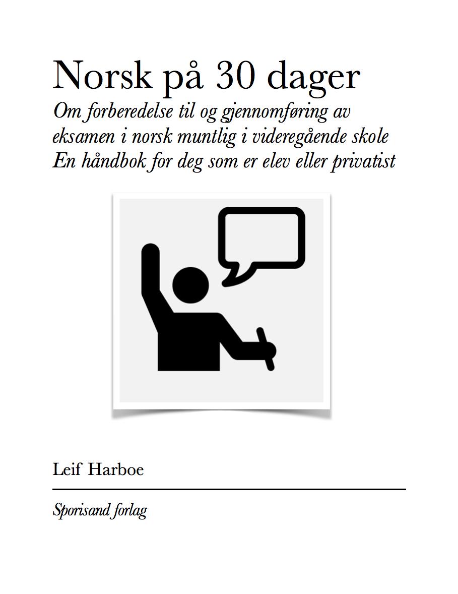 omslag norsk 30 dager muntlig norsk